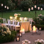 Garden Party with Candles