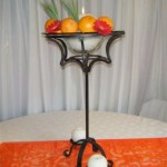 Roman Stand with Candles