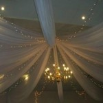 Strip Draping with Lights