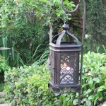 Ornate Lantern with Ground Stick